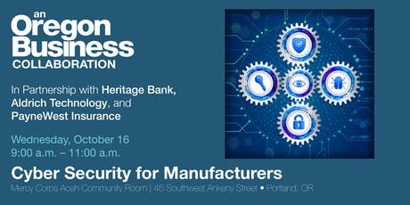 Cyber Security for Manufacturers tickets