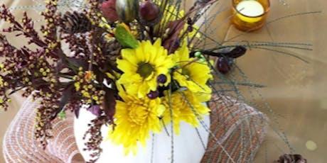 Fall Flower Arrangement tickets