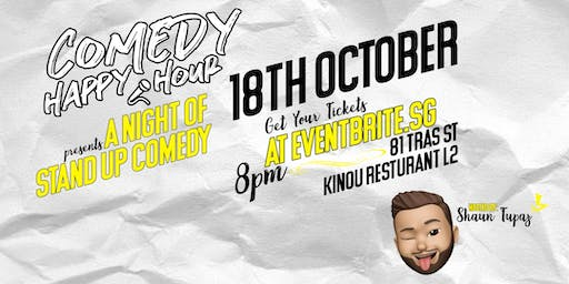 Comedy Happy Hour October 2019