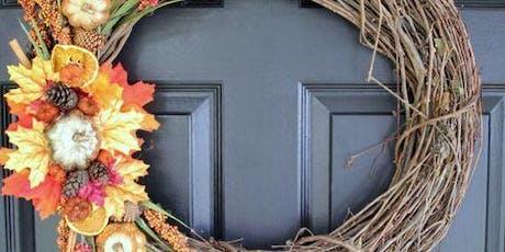 Fall Grapevine Wreath Class tickets