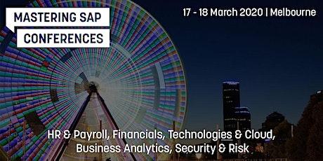 Mastering SAP Conferences 2020 tickets