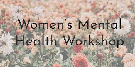 Women's Mental Health Workshop tickets