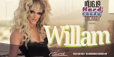 Hard Candy Cincinnati with Willam tickets