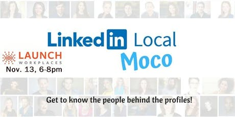 #LinkedInLocal MoCo Nov tickets