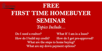 FREE FIRST-TIME HOME BUYERS SEMINAR- (Atlanta-Kennesaw)