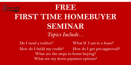 FREE FIRST-TIME HOME BUYERS SEMINAR- (Acworth, Atlanta-Kennesaw) tickets