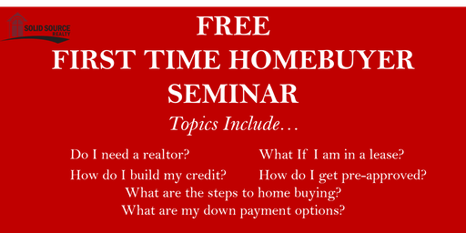 FREE FIRST-TIME HOME BUYERS SEMINAR- (Acworth, Atlanta-Kennesaw)