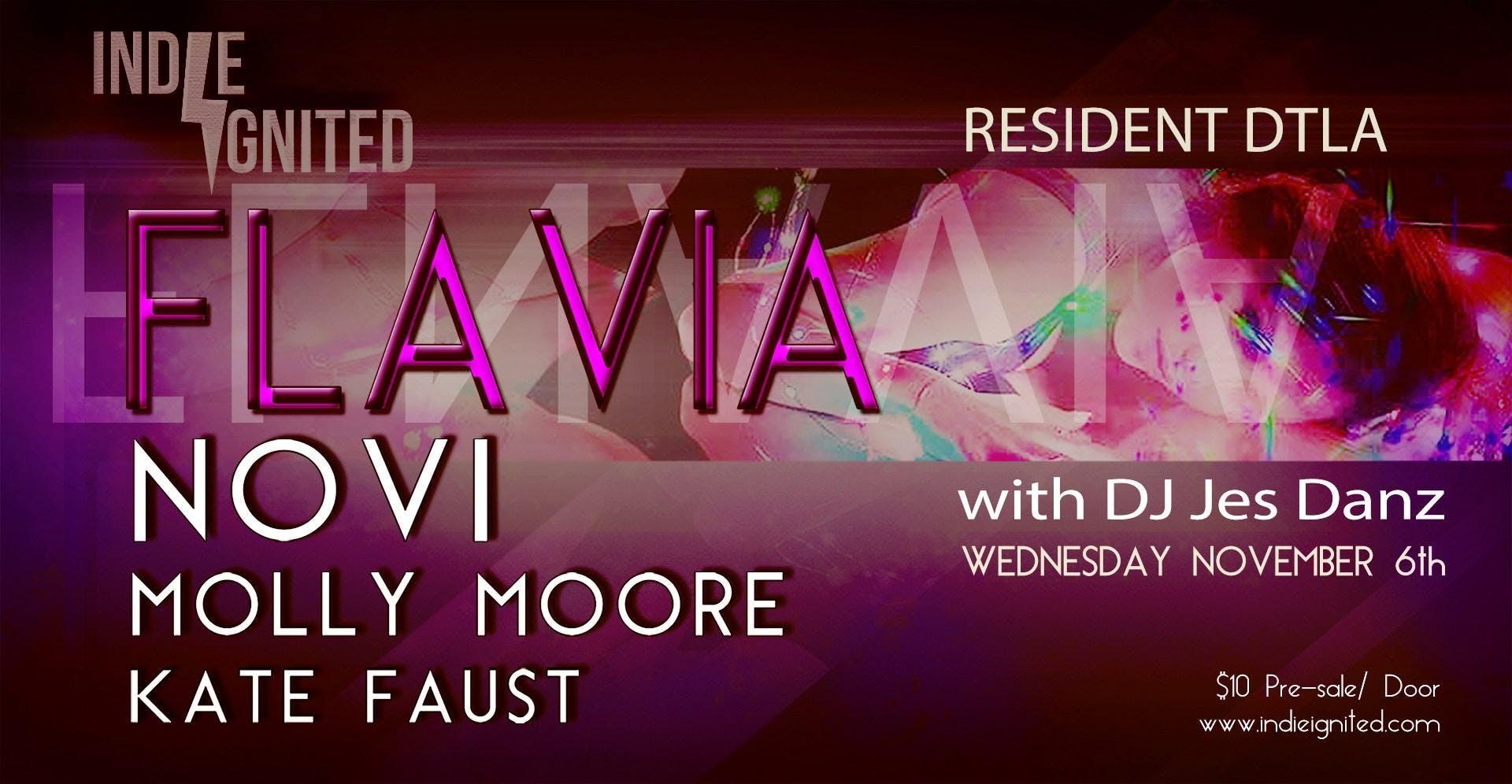 Flavia + Novi, Molly Moore, Kate Faust | Indie Ignited