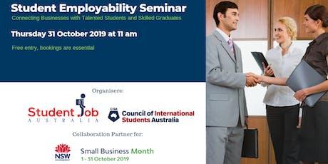 Student Employability Seminar tickets