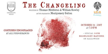 Halloween Moonlight Matinee Performance of THE CHANGELING (Costumes Encouraged) tickets