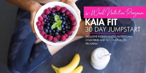 30 Day Jumpstart!  Nutritional transformation program for men and women!