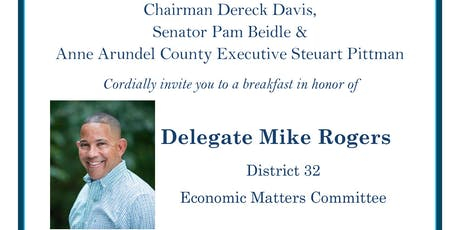 Breakfast in honor of Delegate Mike Rogers tickets