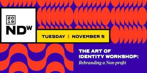 The Art of Identity Workshop: Rebranding a Non-profit