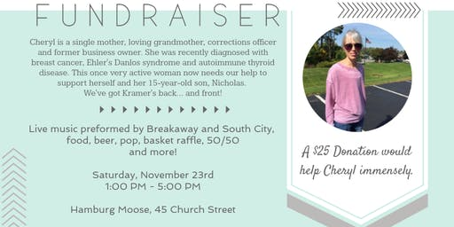 Benefit for Cheryl Kramer