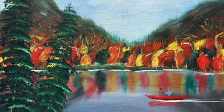 Painting Fall Landscapes for  Beginners with Cassie Levy tickets