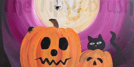 Halloween Kids Paint Party
