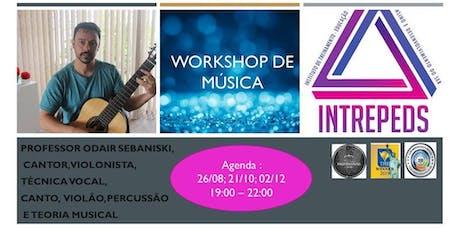 Workshop de Música ingressos