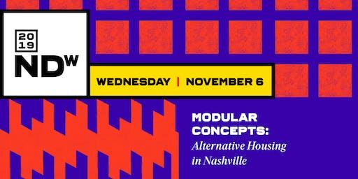 Modular Concepts: Alternative Housing in Nashville