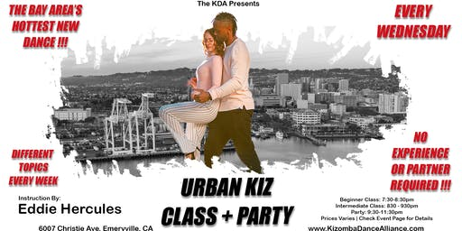 Urban Kiz Class + Party