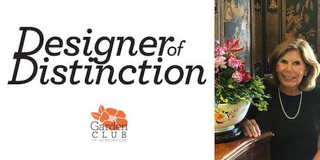 Designer of Distinction: Laura Haley tickets