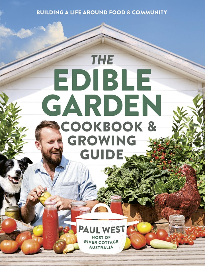 Paul West  - The Edible Garden dinner and talk image