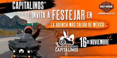 3er Aniversario Capitalinos
