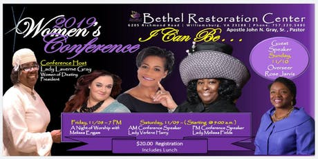 """Women of Destiny """"I Can Be"""" Conference tickets"""