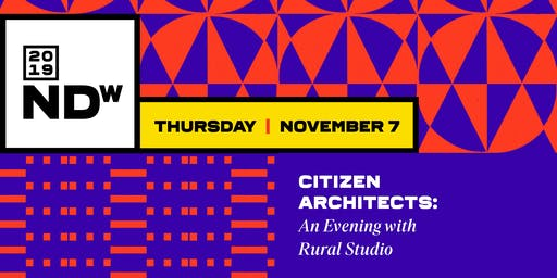Citizen Architects: An Evening with Rural Studio