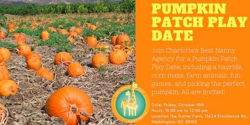 Pumpkin Patch Playdate
