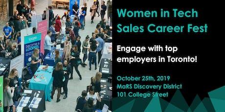 Women in Tech Sales Career Fest - JOB SEEKER/SOCIAL Tickets tickets