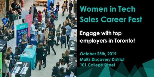 Women in Tech Sales Career Fest - JOB SEEKER/SOCIAL Tickets