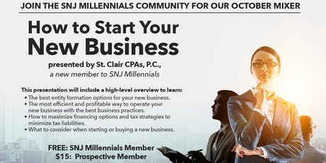 How to Start Your New Business tickets