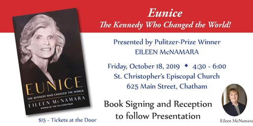 Eunice Presentation, Book Signing and Reception with Eileen McNamara