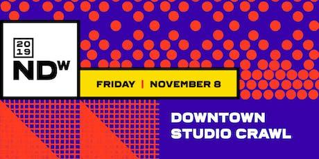 Downtown Studio Crawl tickets