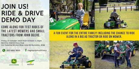 Ride and Drive Demo Day | Burradoo NSW tickets
