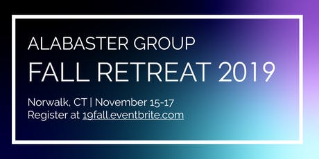 Alabaster Group's Fall Retreat 2019 tickets