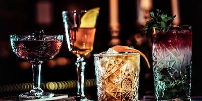 Cocktail & Wine Class, Tasting, & Mixer