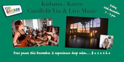 KIRBANU: Candlelight  Yin  & Live Music Event