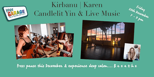 KIRBANU: Candlelight  Yin  & Live Music Event
