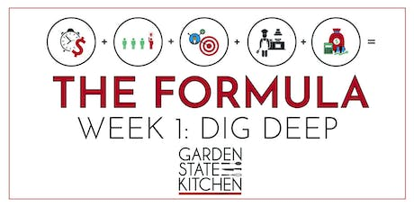 THE FORMULA - Dig Deep: Define Your Strength & the Four Pillars of Business tickets