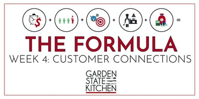 THE FORMULA - Customer Connections: How to Market Your Specialty Food Item