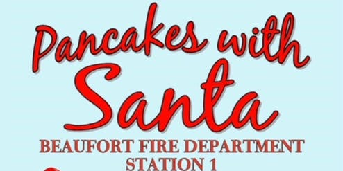 Pancakes with Santa at Beaufort Fire Station