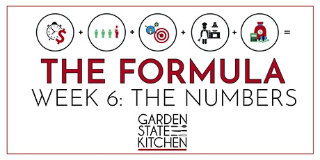 THE FORMULA - The Numbers: How to Get Organized, Find Funding & Profit tickets