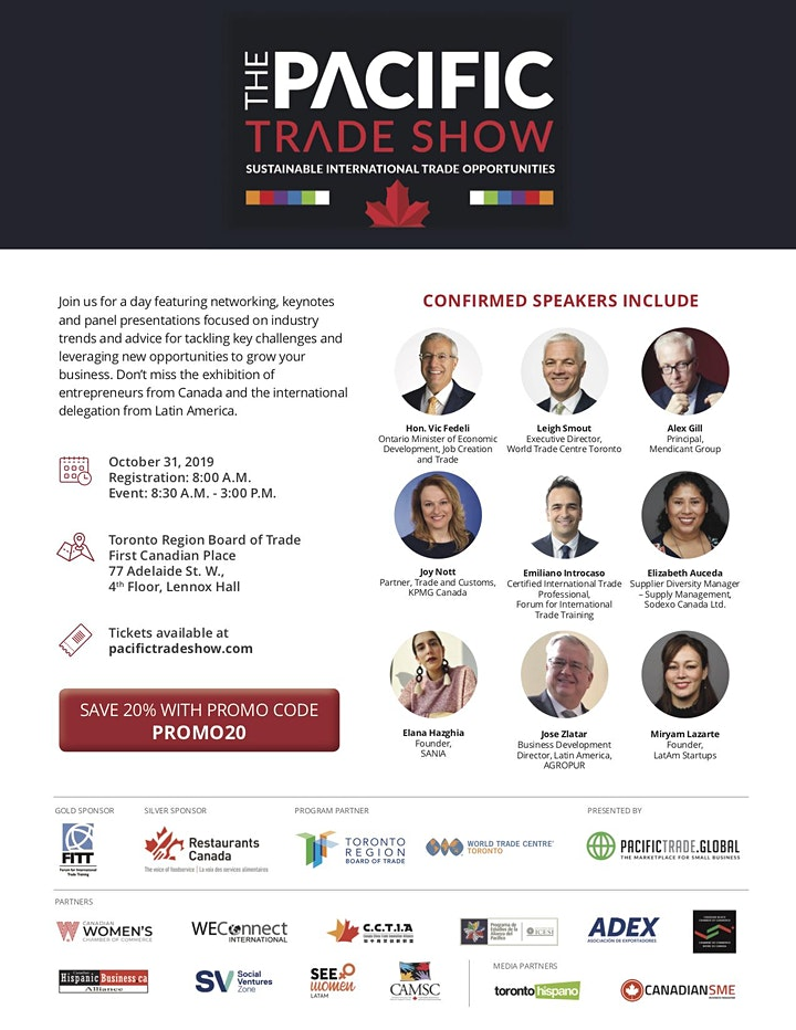 Pacific Trade Show 2019   Conference & Exhibition image
