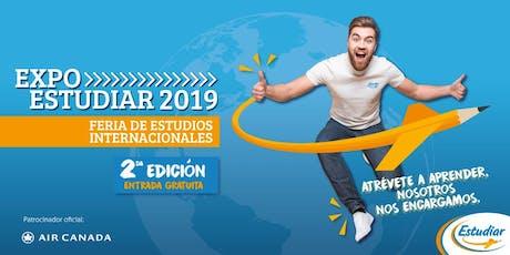 ExpoEstudiar segunda edición Bogotá entradas