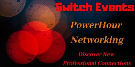 Switch Events - PowerHour Networking tickets