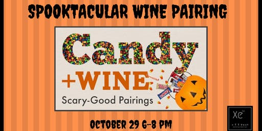 Spooktacular Wine & Candy Pairing