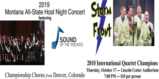 PUBLIC EVENT!: MMEA Montana All State Host Night Concert 2019