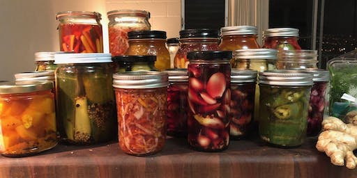 Simple Pickling and Pupus
