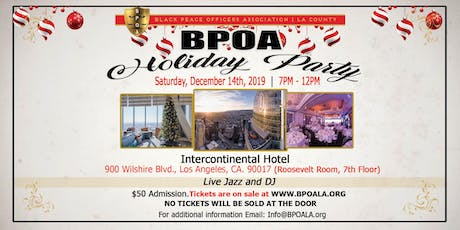 2019 BPOA HOLIDAY PARTY tickets